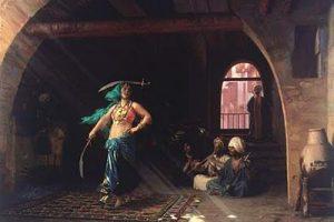 La danza medio orientale in pittura