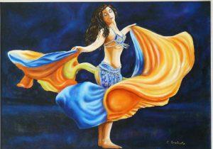 Danza con i veli