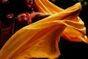 il velo per la danza orientale