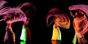 Danza Medio Orientale con il velo
