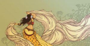 La ballerina di Tribal Fusion